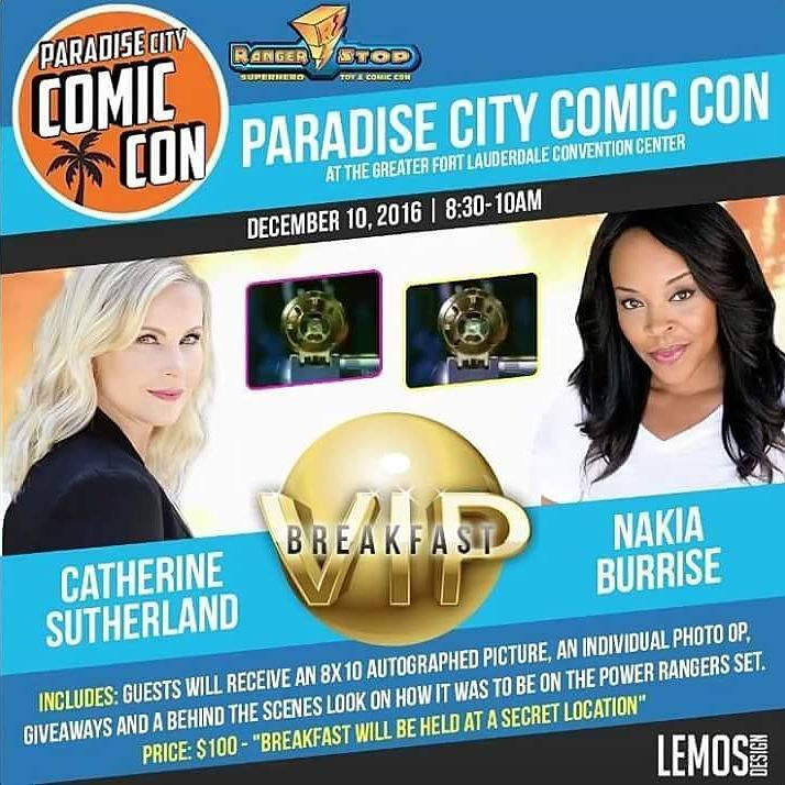 Repost @nakiaburrise wi5h @catherine_sutherland  Nakia and Catherine are bringing their VIP BREAKFAST to Ft. Lauderdale December 10 2016 from 8:30-10am ...only seconds from the convention center ;) Purchase here: http://ift.tt/2cdX5O9  #nakiaburrise #teamnakiab #nakiabunleashed #Beatmaticsupports #nakiacatherine #yellowrangers #promoter #actorslife #onset #tvactor #television #famous #producergrind #producerlife #writerslife #inspiring #theordermovie #pinkrangerkat #pinkranger #convention…