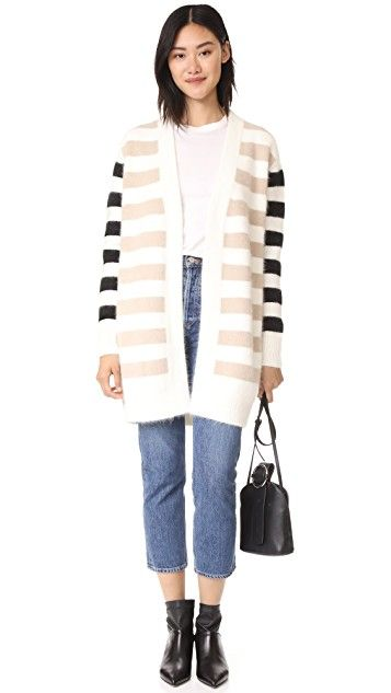 Diane von Furstenberg Striped Cardigan | SHOPBOP SAVE UP TO 30% Use Code: MORE17