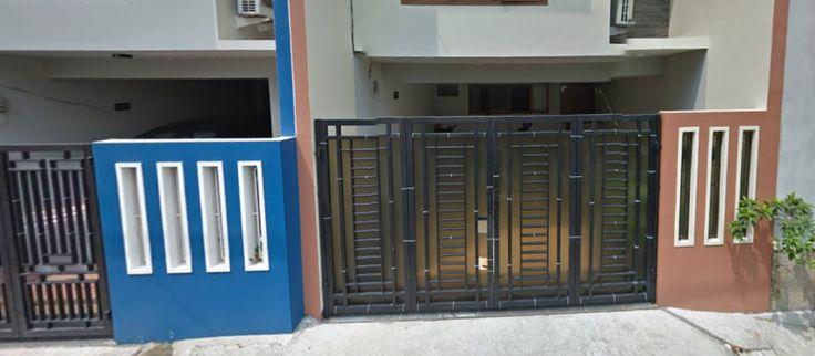 cat pagar untuk rumah Minimalis