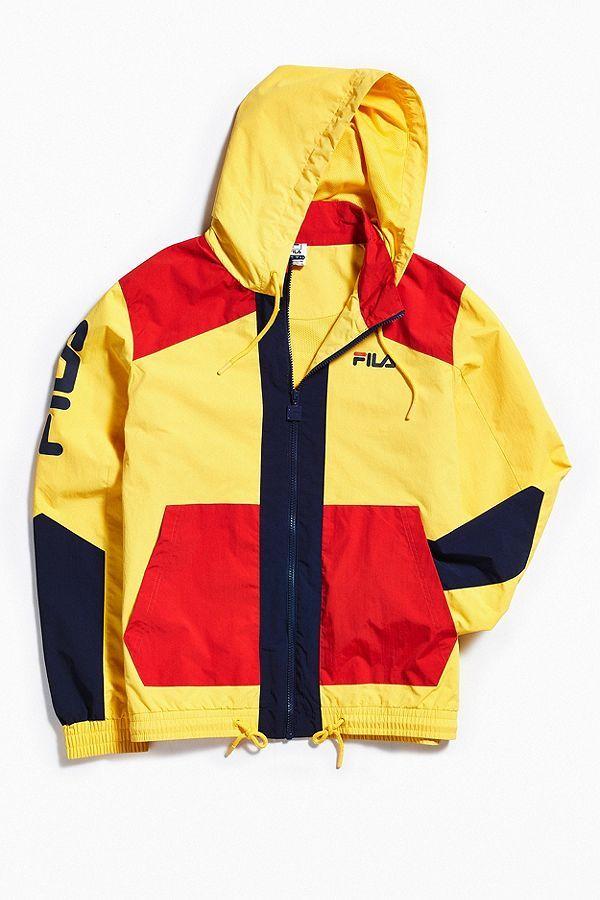 f71b5a8fd6e4 Slide View  2  FILA Earl Hooded Windbreaker Jacket