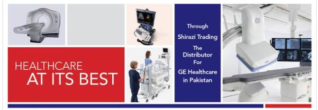 GE (NYSE: GE) and Shirazi Trading, distributors of hospital equipment including diagnostic imaging systems, today kicked-off a three-day series of Cardiac CT & MR workshops in Pakistan, which convened cardiologists and radiologists from Karachi, Lahore, Islamabad, Multan, Peshawar, Bahawalpur and Faisalabad. Dr.   #GE Healthcare #Health news #Pakistan's Radiologists #revolutionary imaging technologies #Shirazi Trading