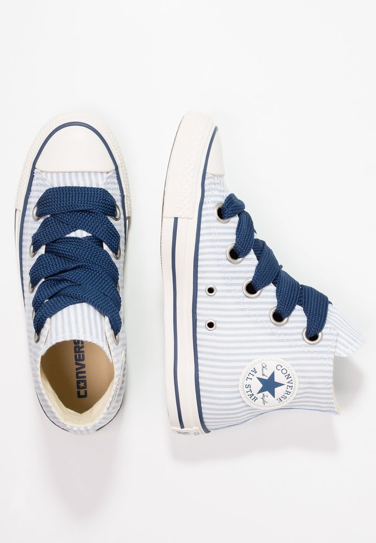 Converse CHUCK TAYLOR ALL STAR BIG EYELETS - Zapatillas altas - blue slate/white/navy - Zalando.es