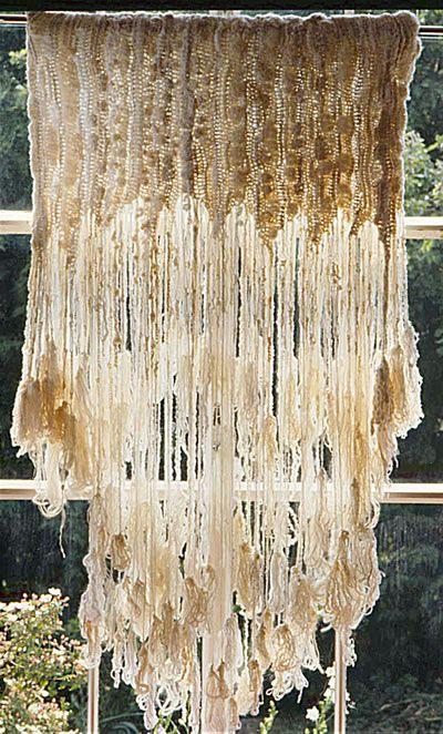 White window weaving