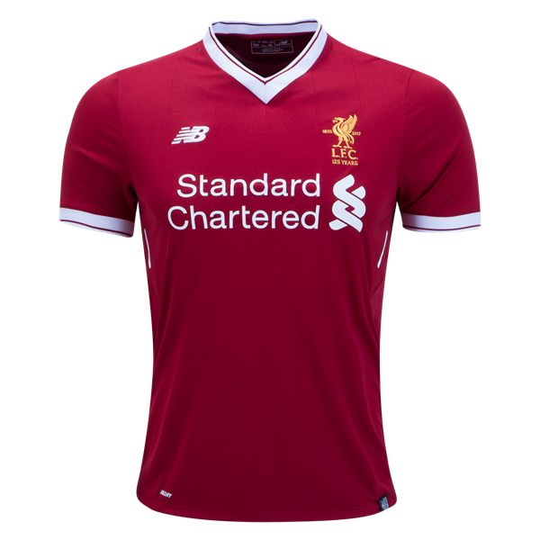 New Balance Liverpool Home Jersey 17/18