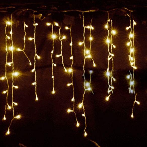 35m droop 03 05m eu plug curtain icicle string lights 220v new year - Christmas Light Flasher Plug