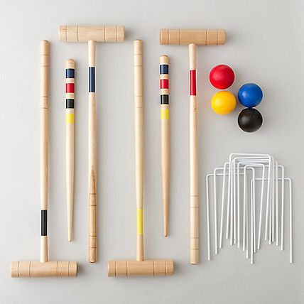Get Ready for Picnic Season with Our 31 Must-Haves - Terrain Backyard Croquet Set from #InStyle