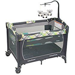Baby Trend Nursery Center Playard, Outback Grey