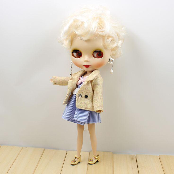 Blyth Doll Nude  B female big eyes Blyth Doll  DIY Toys For Girls Gifts