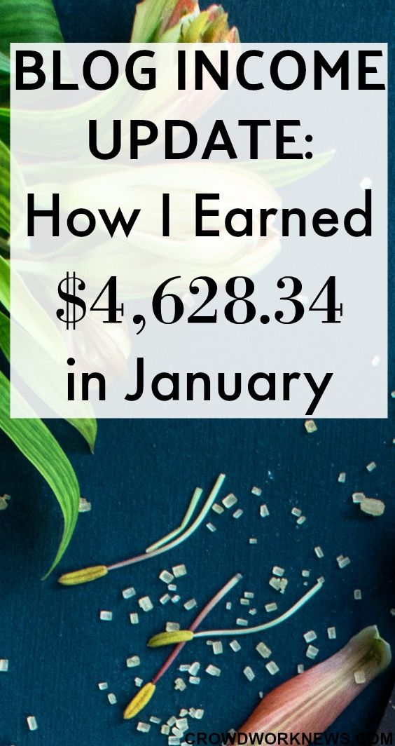 Welcome to my first blog update in 2018! I am still surprised at the fact that I am earning almost a full-time income from home with a 18 month old blog. If I can do it as a stay-home-mom, you can do it too. Find out how I earned $4,628.34 in the month of January. #blogger #bloggingtips #onlinebusiness