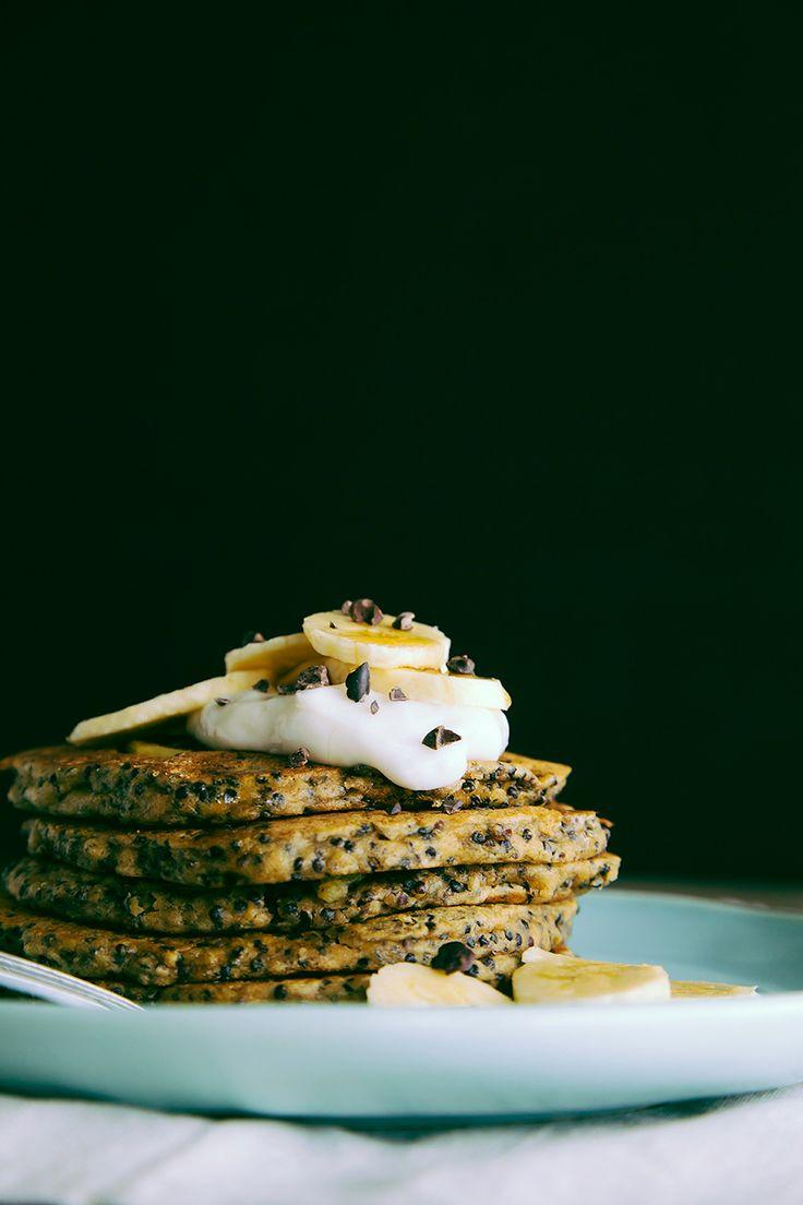 coconut, almond + quinoa breakfast cakes | Vegan = Live Long And Pros ...