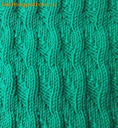 Pattern for knitting Sea surf