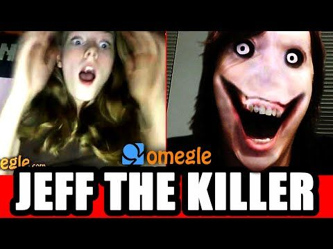 Jeff the Killer Scares Omegle Video Chatters! - YouTube