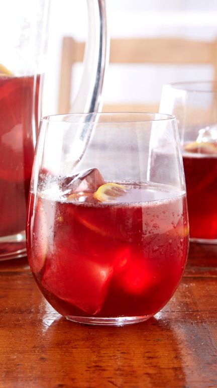 Keep the ingredients for this refreshing cocktail on hand so you can easily prepare it for unexpected company.