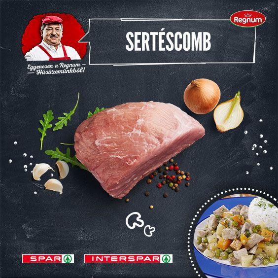 A comb egy finom, sovány hús, a rántott karaj után  a gyerekek kettes számú kedvence. Ragunak is kiváló: http://www.spar.hu/hu_HU/spar_chef/receptek/foetel/gombas_sertesragu.html