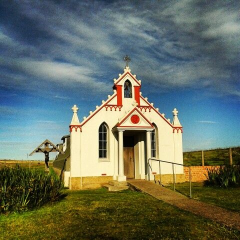 The Italian Chapel and its amazing history, a symbol of hope and peace. In #Lambholm #Kirkwall #Orkney #Scotland. #scozia #orcadi # scotland2013 @VisitScotland