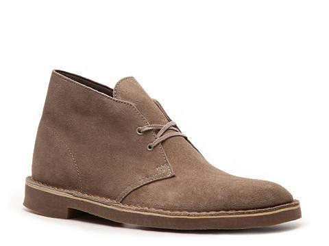Love these! Clarks Mens Bushacre Suede Chukka Boot Mens Casual Boots Boots Mens Shoes - DSW