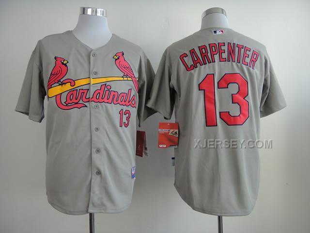 http://www.xjersey.com/cardinals-13-carpenter-grey-cool-base-jerseys.html CARDINALS 13 CARPENTER GREY COOL BASE JERSEYS Only $34.00 , Free Shipping!