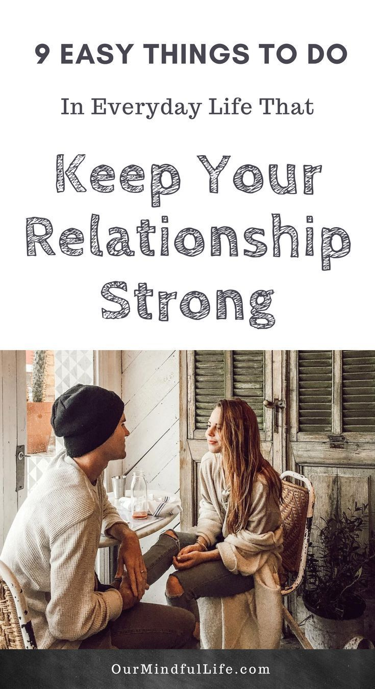 how to keep relationships together