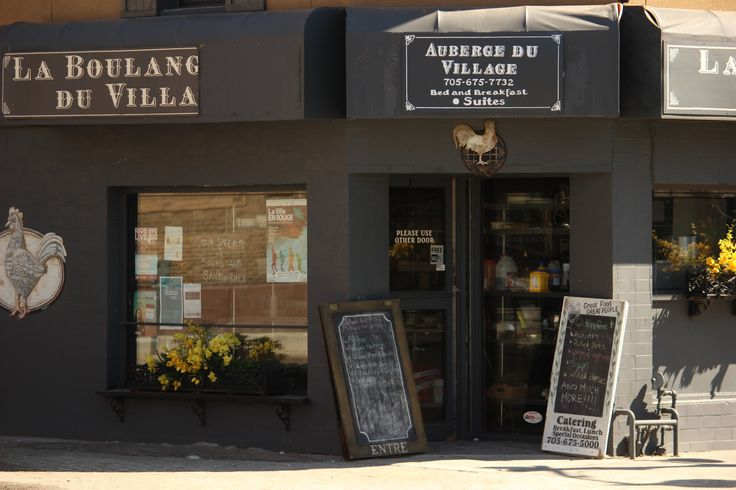 Soon to be renamed, La Boulangerie du Village.