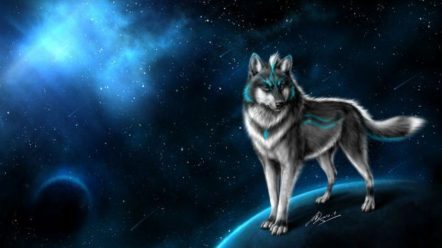 Animated Galaxy Wallpaper Windows 10 Wolf Background Wolf Wallpaper Wolf Pictures