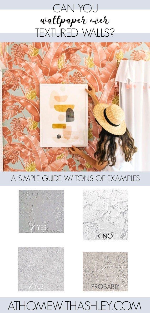 Can You Wallpaper Over Textured Walls Textured Walls Budget Home Decorating Decorating Blogs