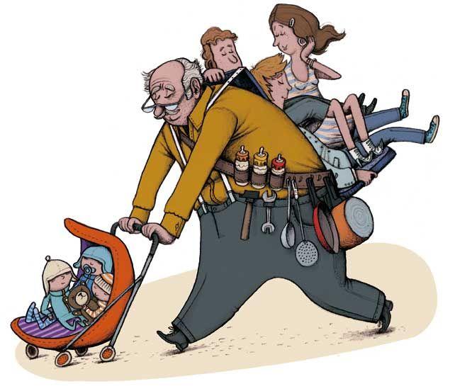 Científicos advierten que es malo para la salud de tus hijos dejarlos con los abuelos, ya que podrían aumentar el riesgo de cáncer.Los abu
