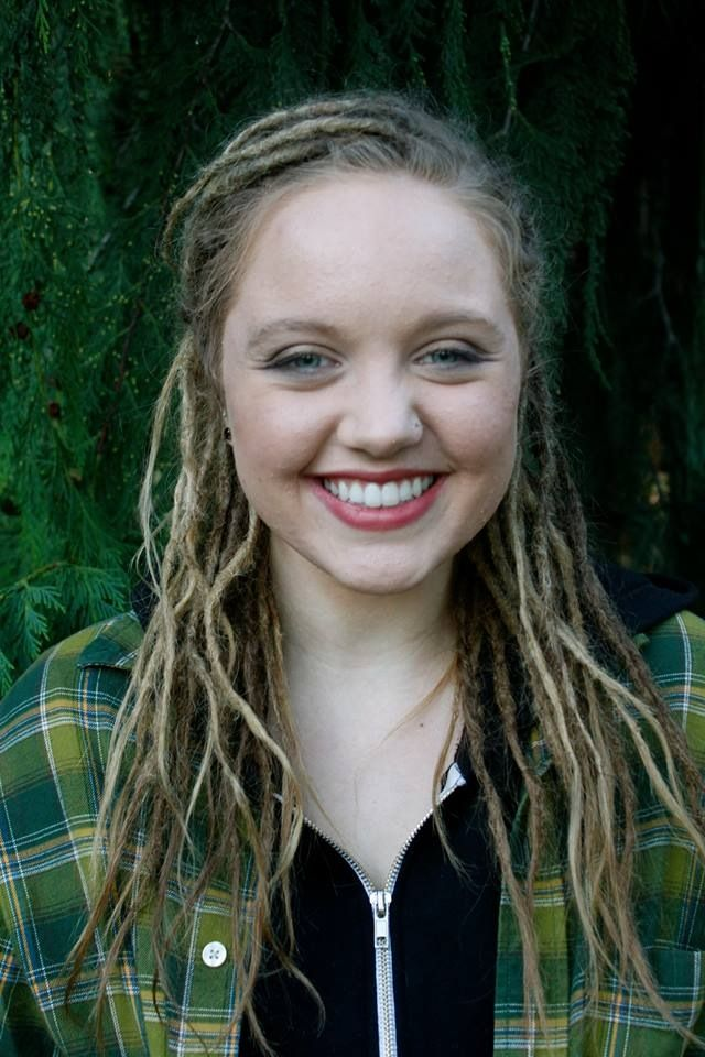 Pretty stoked about my new dreads. Dread Goddess in SE Portland!