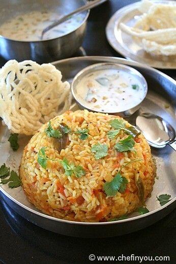 Thakkali Sadam Recipe | Tomato Bath Recipe| Tomato Rice Bath recipe