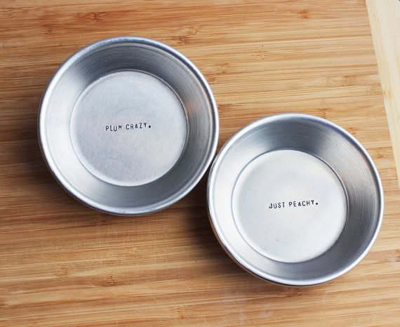 Hand St&ed Hidden Quote Mini Pie Plate - Set of Two Pans & 21 best Hidden Quote Pie Plates images on Pinterest | Hiding quotes ...