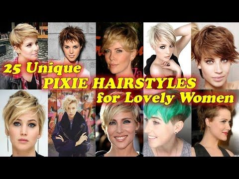 25 Unique Pixie Haircuts for Lovely Women