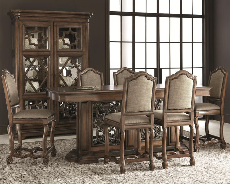 Montebella Gathering Table Dining Set By Bernhardt Home Design Ideas Pinterest Dining Sets