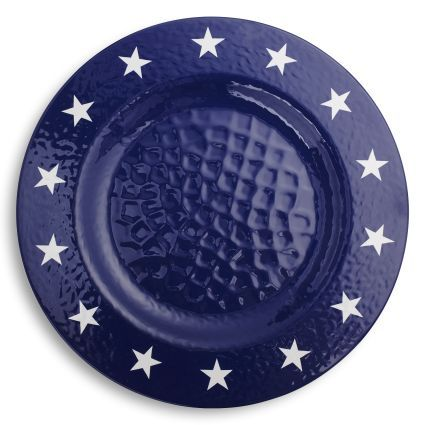 stars and stripes melamine dinner plate sur la table - Melamine Dinner Plates
