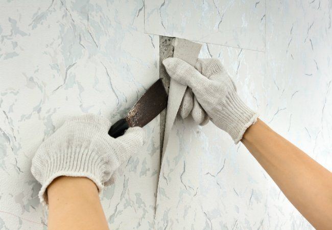Solved The Best Way To Remove Wallpaper Old Wallpaper Removable Wallpaper Easy To Remove Wallpaper