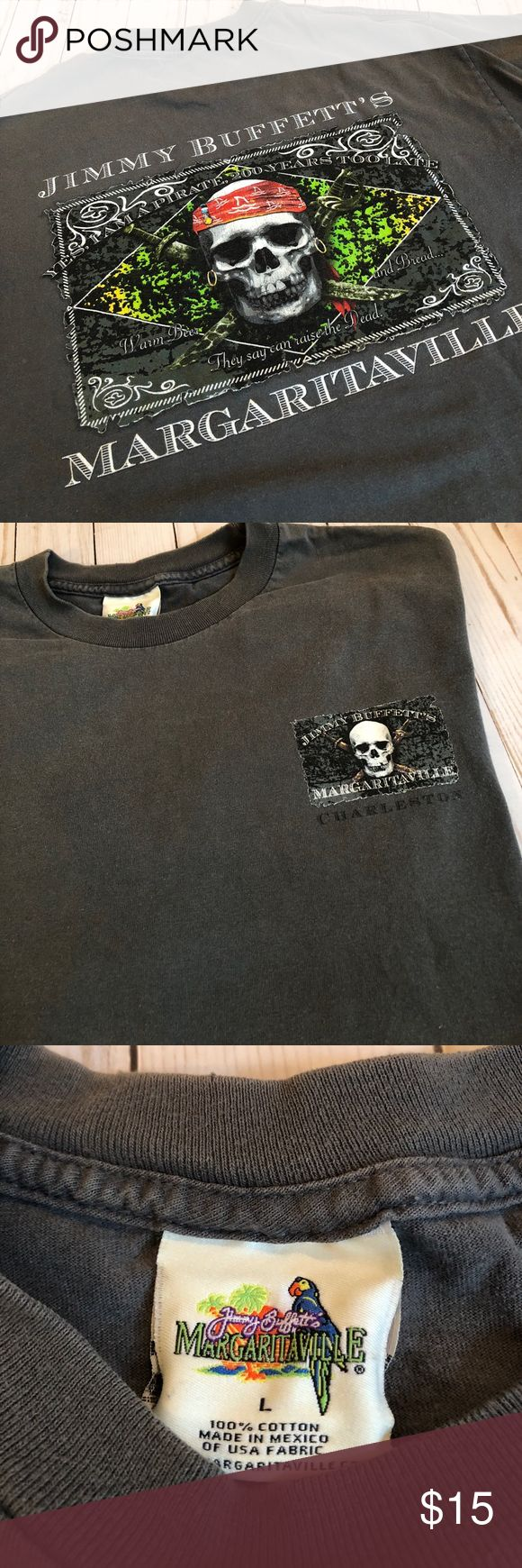 Jimmy Buffett Margaritaville Pirate Shirt Large EUC jimmy Buffett Margaritaville Short Sleeve Pirate Shirt. No rips, or stains . Smoke free home. 22in pit to pit. Jimmy Buffett Margaritaville Shirts Tees - Short Sleeve