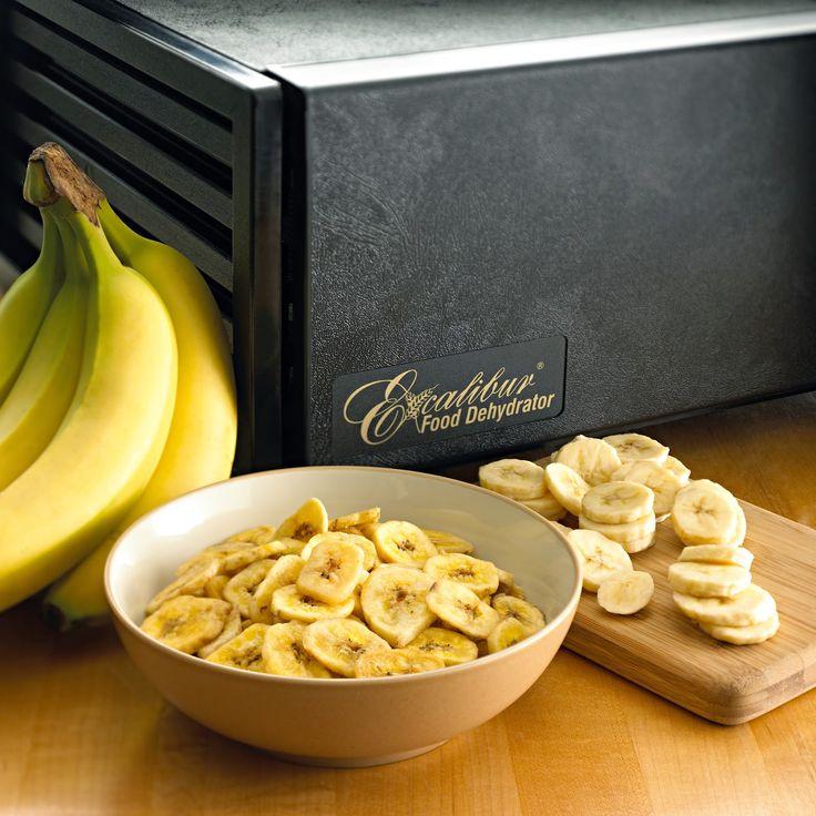 Nature et Vitalité: Recette au déshydrateur : chips de banane au miel