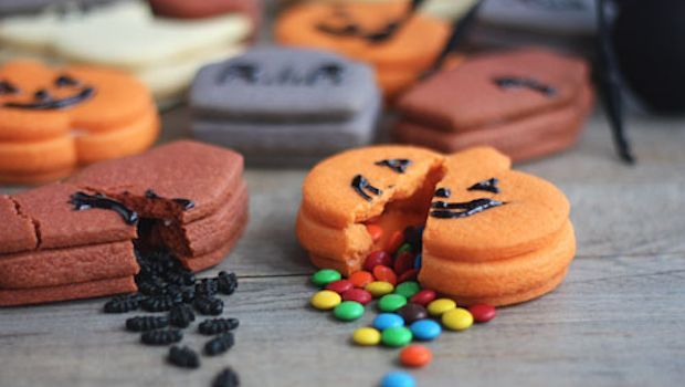 Biscotti di Halloween con sorpresa :-)