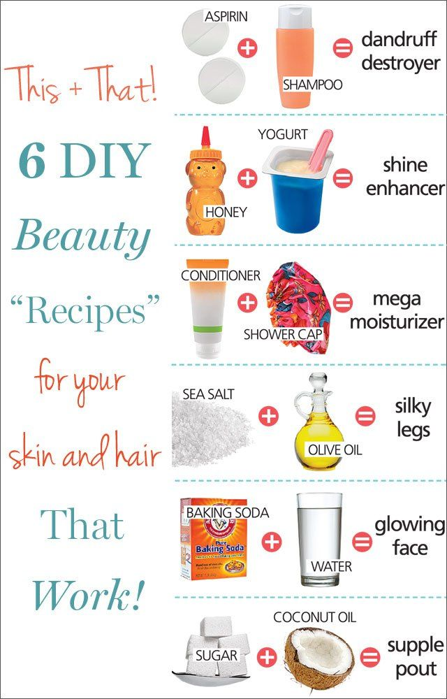 DIY Recipes | Great beauty recipes that would be great for your skin and hair…