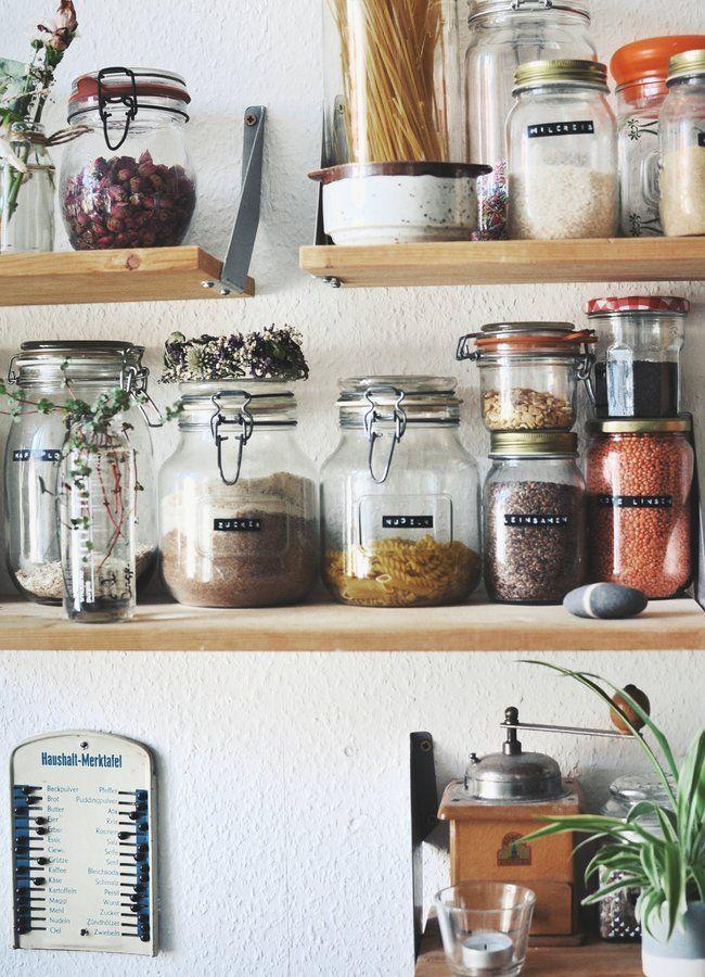 Aufbewahrung in der Küche | SoLebIch.de Foto: fra…