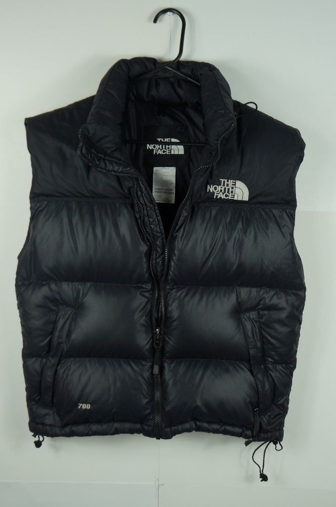 624600abcd The North Face Women Vest Goose Down 700 Fill Puffer Black M  TheNorthFace    Vest