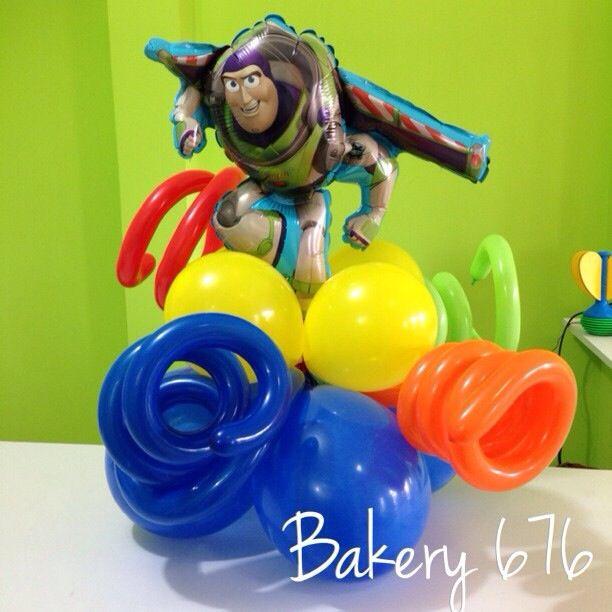 Centro de mesa toy story con globos, toy story centerpiece Balloon Bakery 676