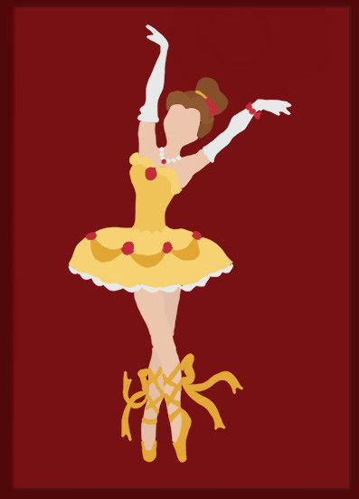 ballerina belle. i so want to get these prints and frame them for her room