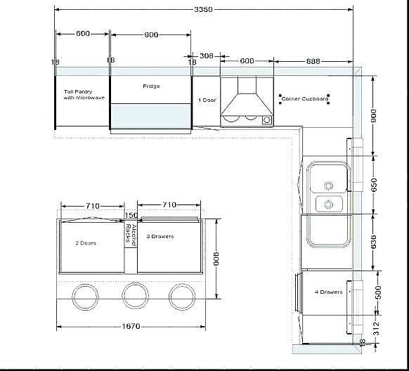 20 Galley Kitchen Floor Plans Magzhouse