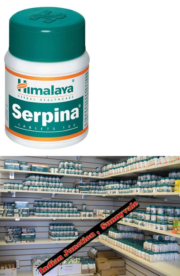 Herbal Remedies and Resins: Himalaya Herbal Serpina 100 Tabs Usa Based Wholesale Herbal Shop.... Exp 2019 -> BUY IT NOW ONLY: $329.99 on eBay!