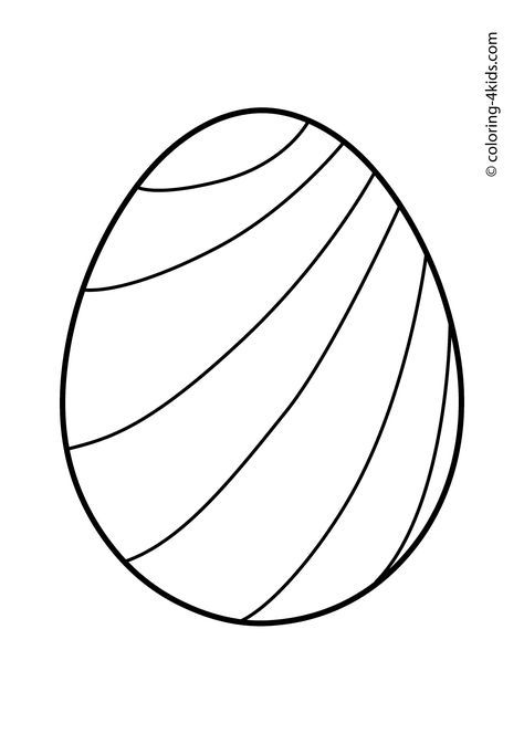 Easter coloring pages, Easter eggs coloring pages for kids