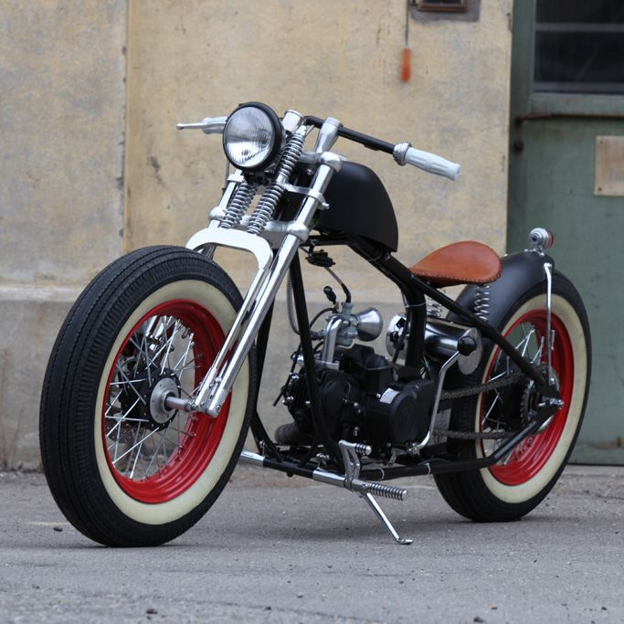 Welcome to the home of the original hardknock bobber by for Honda of frisco