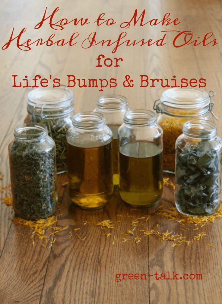 Infused Herbal Oils