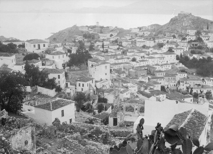 Walter Hege,Ελλάδα ΥΔΡΑ 1928-35,