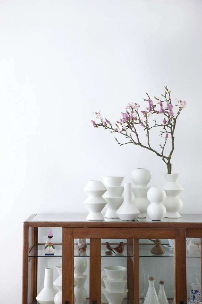 ferm living Vase 2 ferm living rokdoubledot Dekoration