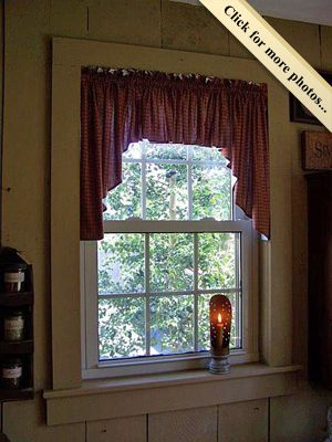 Best 25+ Primitive curtains ideas on Pinterest | Country window ...