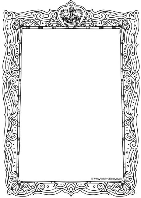 Royal Frame Printables